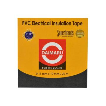 DAIMARU ISOLASI LISTRIK PVC 0,1X20 M - HITAM_2
