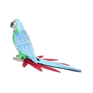 HANSA BONEKA RAINFOREST PARROT 37 CM_1