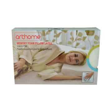 ARTHOME BANTAL LATEX MEMORY FOAM 60X40 CM - PUTIH_1