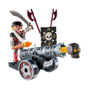 PLAYMOBIL INTERACTIVE CANNON WITH RAIDER - HITAM_2