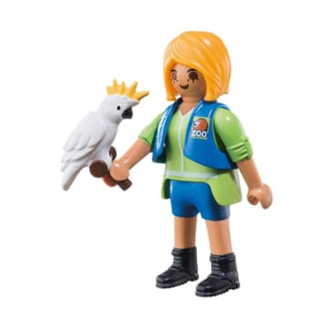 PLAYMOBIL ANIMAL TRAINER WITH COCKATOO 6830_1