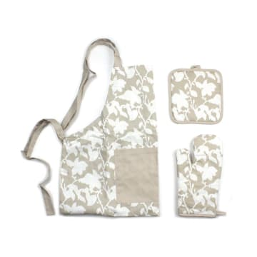 SET CELEMEK DAPUR LEAVES 3 PCS_1