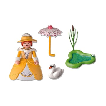 PLAYMOBIL VICTORIAN LADY WITH POND 5410_2