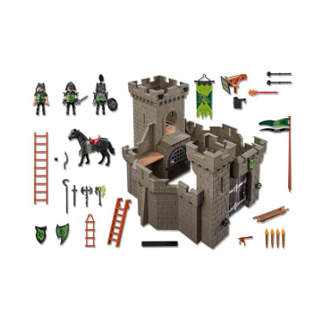 PLAYMOBIL WOLF KNIGHTS CASTLE 6002_2