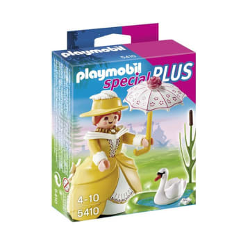 PLAYMOBIL VICTORIAN LADY WITH POND 5410_1