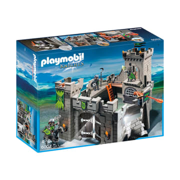 PLAYMOBIL WOLF KNIGHTS CASTLE 6002_1