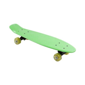 PAPAN SKATEBOARD SINGLE KICK 57X15 CM - HIJAU_1