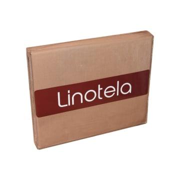 LINOTELA DUVET COVER TWO TONE 160X210 CM - COKELAT/PINK_2