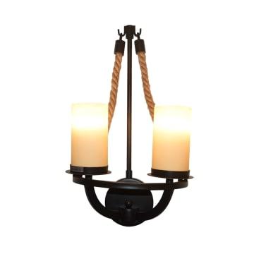 LENORE LAMPU DINDING 28X53X15 CM_1