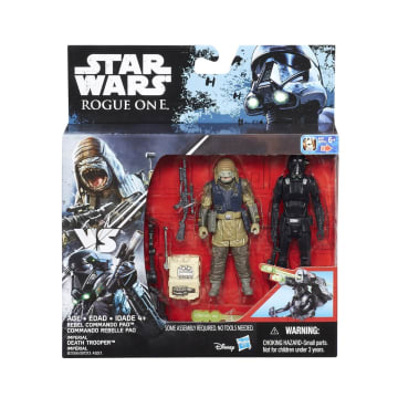 STAR WARS ACTION FIGURE R1 IMPERIAL DEATH TROOPER AND REBEL COMMANDO PAO_1