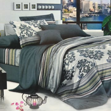 KRISHOME BED COVER SINGLE DF120736AA1_1