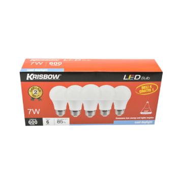 KRISBOW SET BOHLAM LED 7W 5 PCS - COOL DAYLIGHT_2