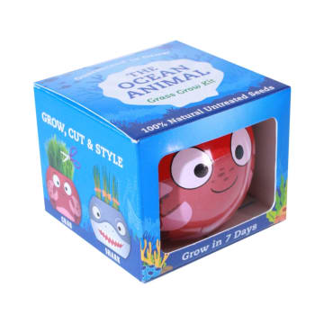 CERAMIC POT TANAMAN GROW KIT OCEAN ANIMALS_2