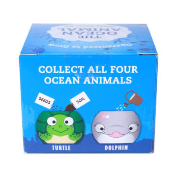 CERAMIC POT TANAMAN GROW KIT OCEAN ANIMALS_3