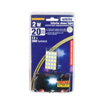 RAZON LAMPU KABIN MOBIL LED DENGAN ADAPTOR 2 W - PUTIH_1