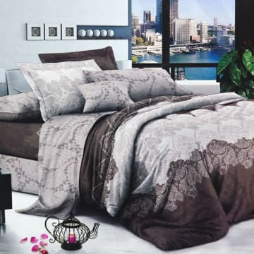 KRISHOME BED COVER SINGLE  DF122643AA2_1