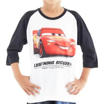 Disney T Shirt Reglan Cars 3 Cars Smile Size 6_1