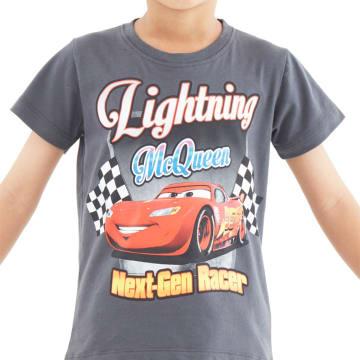 Disney T Shirt Cars 3 Lightning McQueen Next Gen Racer Size 6_1