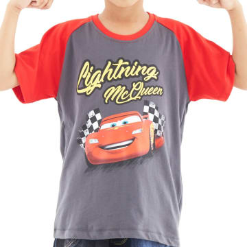 Disney T Shirt Reglan Bayi Cars 3 Lightning McQueen Size 18 Bulan_1