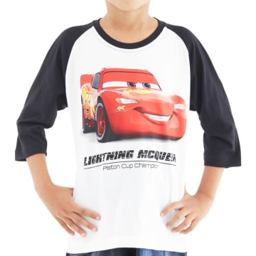 Disney T Shirt Reglan Bayi Cars 3 Cars Smile Size 12 Bulan_1