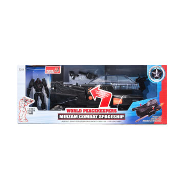 POWER TEAM ACTION FIGURE MIRZAM COMBAT SPACESHIP 81322_1