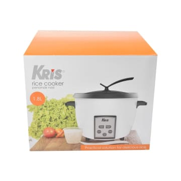 KRIS RICE COOKER MANUAL 1.8 LTR - PUTIH_5