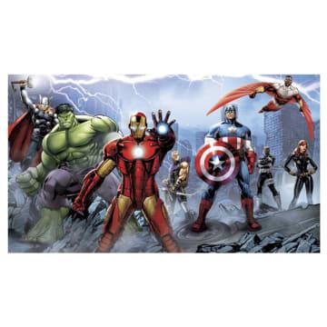 Marvel Wallpaper The Avengers Assemble Chari Rail Mural_1
