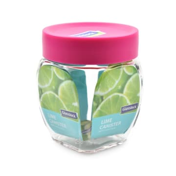 GLASSLOCK STOPLES LIME 350 ML - PINK_2