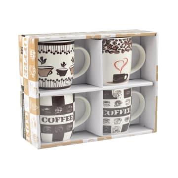 DELIZIOSO SET MUG COFFEE MOSAIC 4 PCS_2