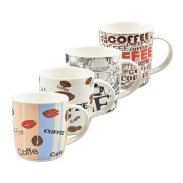 DELIZIOSO SET MUG COFFEE LINER 4 PCS_1