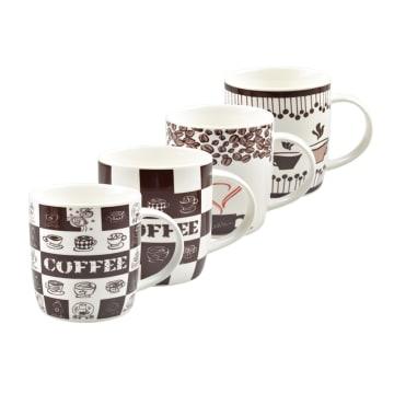 DELIZIOSO SET MUG COFFEE MOSAIC 4 PCS_1
