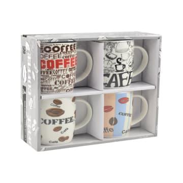DELIZIOSO SET MUG COFFEE LINER 4 PCS_2