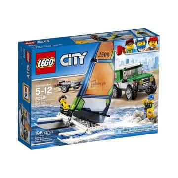 LEGO CITY VEHICLES 4X4 WITH CATAMARAN_4