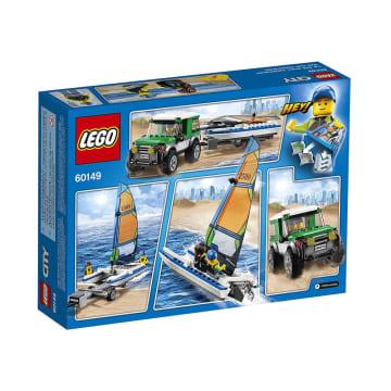 LEGO CITY VEHICLES 4X4 WITH CATAMARAN_5