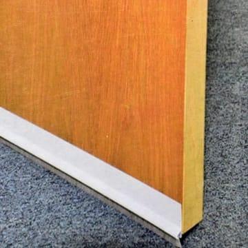KRISBOW PENUTUP LUBANG BAWAH PINTU PVC-PILESEAL 1 M - PUTIH_2
