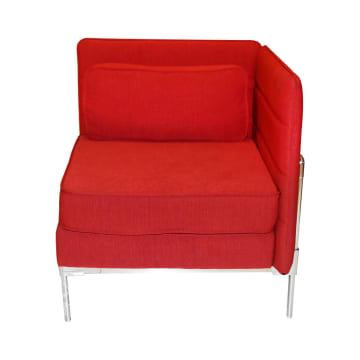 SOFA SUDUT TUNGGAL SIDE LENOX - MERAH_2