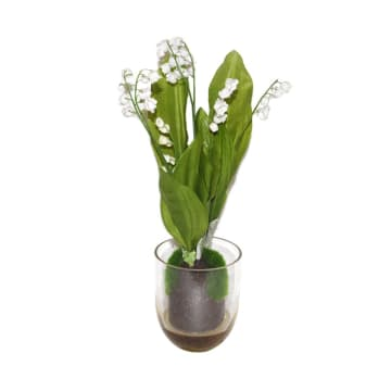 BUNGA ARTIFISIAL LILY OF THE VALLEY 30 CM_1