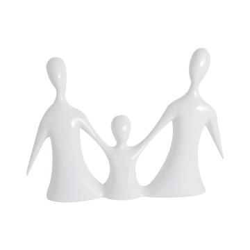 MINIATUR DEKORASI FAMILY 890 32X6X23 CM - PUTIH_1