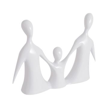 MINIATUR DEKORASI FAMILY 890 32X6X23 CM - PUTIH_2