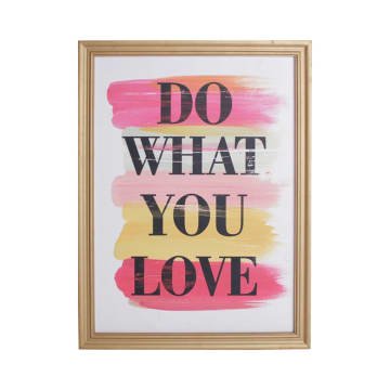 HIASAN DINDING DO WHAT YOU LOVE 43X2.5X58 CM_1