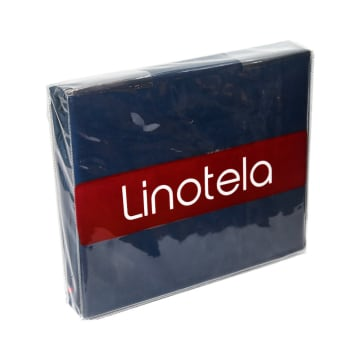 LINOTELA TWO TONE DUVET COVER 160X210 CM - MERAH BIRU_2