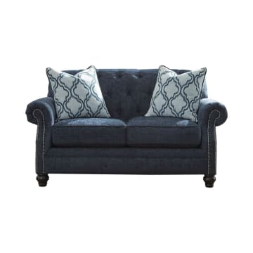 ASHLEY LAVERNIA SOFA 2 DUDUKAN - BIRU NAVY_1