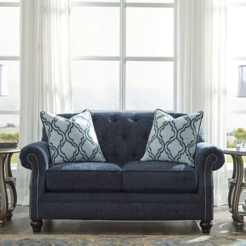 ASHLEY LAVERNIA SOFA 2 DUDUKAN - BIRU NAVY_2