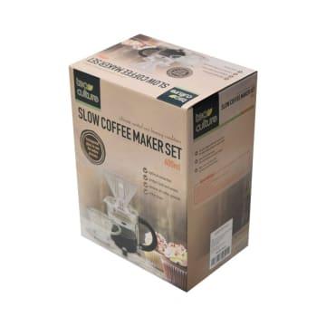 TEA CULUTRE SET SLOW COFFEE MAKER 600 ML_4