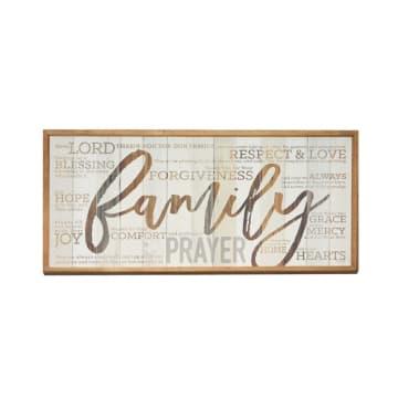 HIASAN DINDING KAYU FAMILY 23X64X2.8 CM_1