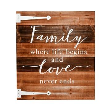 HIASAN DINDING FAMILY AND LOVE 58X68X2.8 CM_1