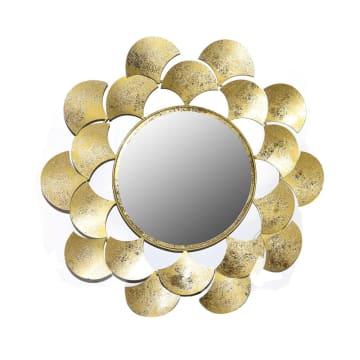 CERMIN DINDING DEKORASI 0773 61X58.4X3.2 CM - GOLD_1