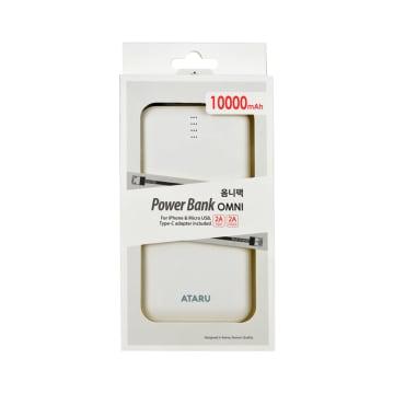 ATARU OMNI POWER BANK 10000 MAH - PUTIH_1