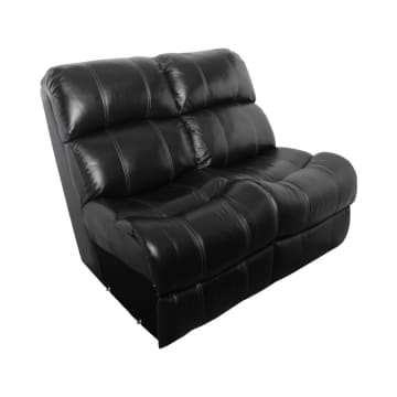 CHEERS MADISON SOFA RECLINER MODULAR ARMLESS  2S - HITAM_2