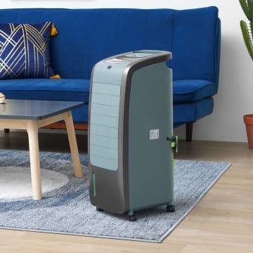 KLAZ AIR COOLER 70 W 5.5 L - HITAM/ABU-ABU_2